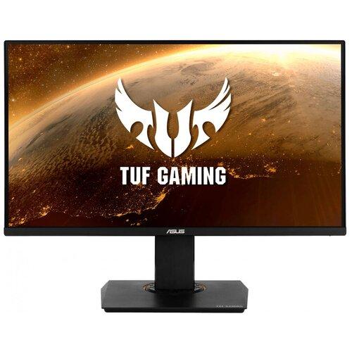 Фото - Монитор ASUS TUF Gaming VG289Q 28, черный монитор asus tuf gaming vg32vq 31 5 черный
