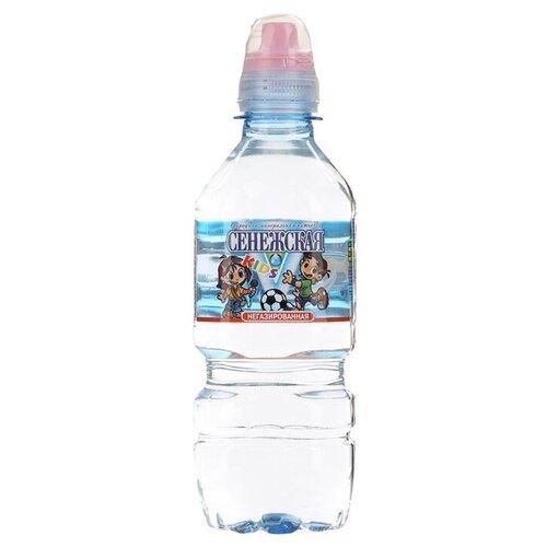 Вода минеральная Сенежская Kids негазированная, спорт ПЭТ, 0.35 л вода минеральная сенежская негазированная пэт 1 5 л