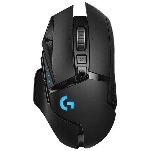 Фото - Мышь Logitech G G502 Hero, черный мышь logitech g502 hero игровая оптическая проводная usb белый и черный [910 006097]