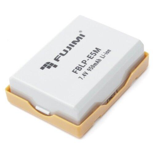 Фото - Fujimi FBLP-E5M Аккумулятор для фото-видео камер fujimi lp e17 зу аккумулятор для фото и видео камер в комплекте с зу