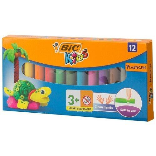 Пластилин BIC 12 цветов, арт.947713 2 упаковки недорого