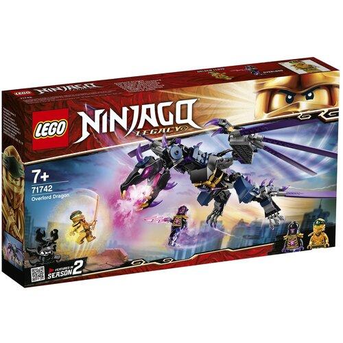 Фото - Конструктор LEGO Ninjago 71742 Дракон Оверлорда конструктор lego ninjago 70599 дракон коула