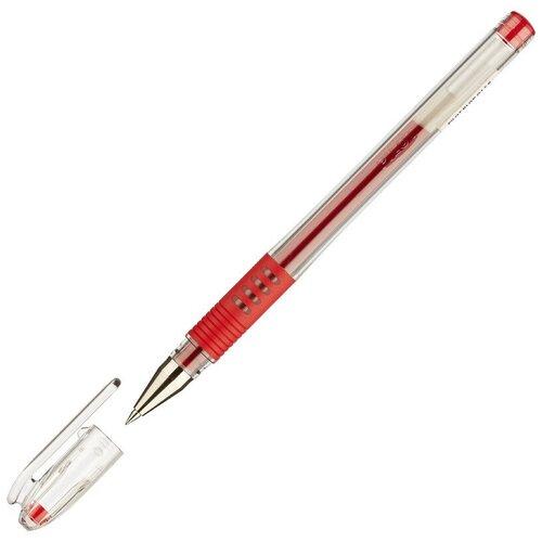Купить Ручка гелевая PILOT BLGP-G1-5 резин.манжет. красная 0, 3мм Япония 2 штуки, Ручки