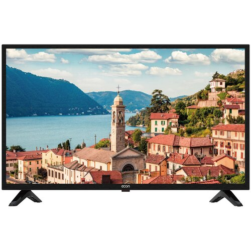 Фото - Телевизор ECON EX-40FT008B 40 (2020), черный тв стеллаж manhattan home city 1 2 white gloss pa26452 241 52