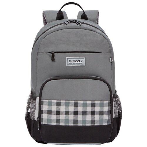 Купить Grizzly Рюкзак школьный RB-155-1/3, Рюкзаки, ранцы