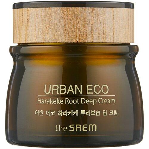 Купить The Saem Urban Eco Harakeke Root Deep Cream Глубоко увлажняющий крем для лица с экстрактом новозеландского льна, 60 мл