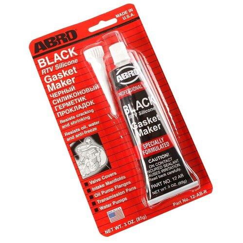 ABRO Герметик прокладок ABRO высокотемпературный черный 85 гр