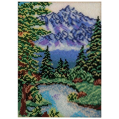Купить Радуга бисера Набор для вышивания Тихая заводь 19 х 25 см (В-135), Наборы для вышивания