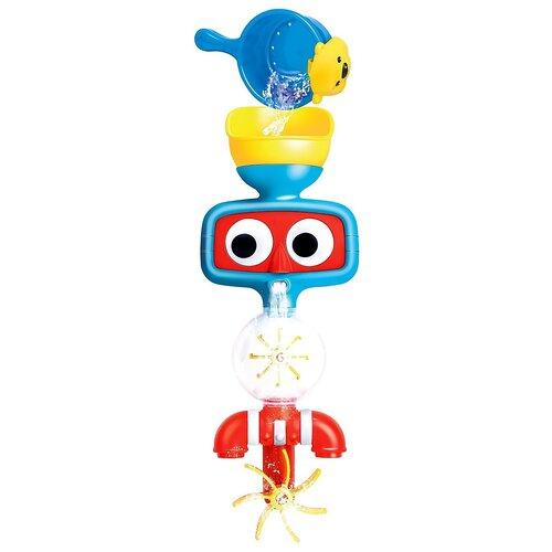 Купить Игрушка для ванной MY ANGEL Глазастик маленький MA351610050 красный/голубой/желтый, Игрушки для ванной