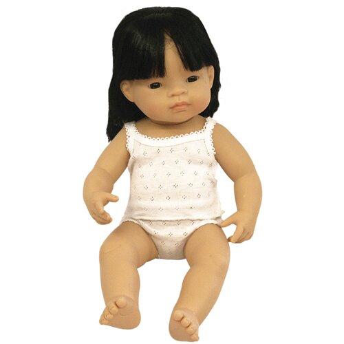 Пупс Miniland девочка азиатка, 38 см, 31156