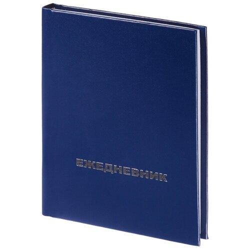Купить Ежедневник недатированный Attache Economy, бумвинил, синий, А6, 105х140мм, 128л, Ежедневники
