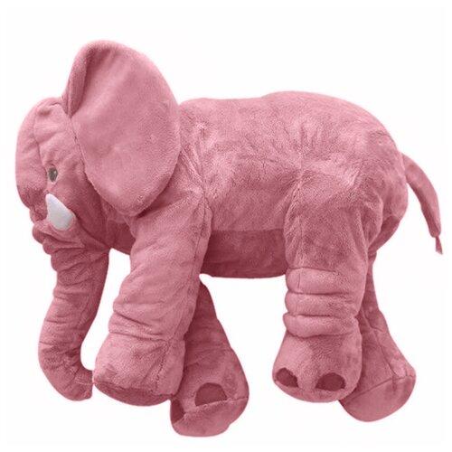 Мягкая игрушка 60см Детская игрушка в подарок / Плюшевая игрушка для детей Слон (Розовый)