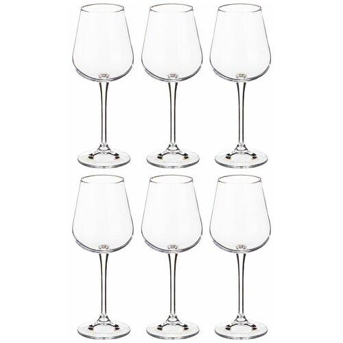 Фото - Набор бокалов для вина из 6 шт amundsen/ardea 330 мл Crystalite (669-177) набор бокалов первый мебельный набор бокалов для вина crystalite bohemia ardea amundsen 450мл 6 шт
