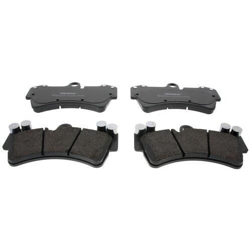 Фото - Дисковые тормозные колодки передние Ferodo FDB1626 для Porsche Cayenne, Audi Q7, Volkswagen Touareg (4 шт.) дисковые тормозные колодки передние ferodo fdb1832 для audi a6 audi a8 volkswagen phaeton 4 шт