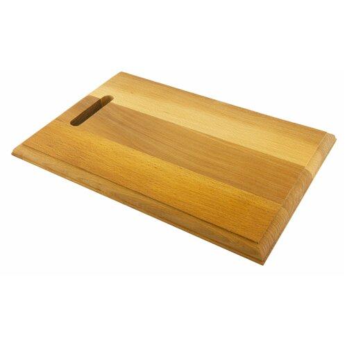 доска разделочная деревянная bohmann bh 02 597 диаметр 25 см Разделочная доска Bohmann BH 02-568, 34х23 см, бежевый