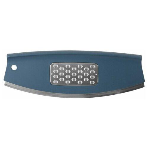 Нож для пиццы BergHOFF Leo, лезвие 30 см, синий/серебристый berghoff нож для пиццы leo 30 см