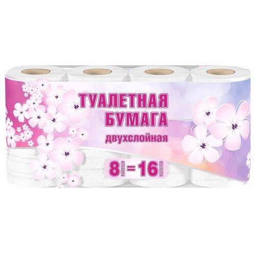 Туалетная бумага Veiro белая двухслойная Большая намотка  - Купить