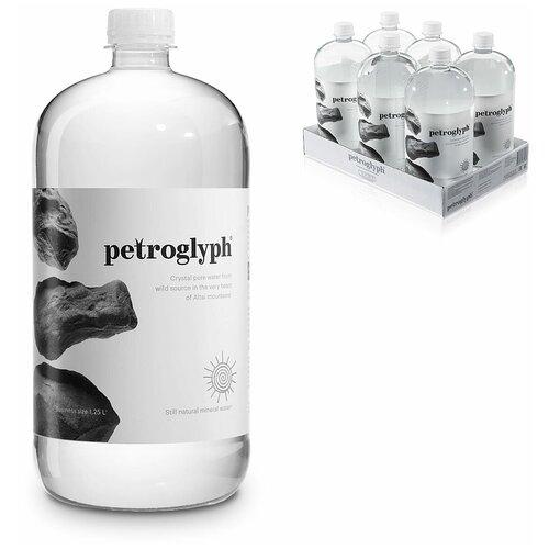 Вода минеральная Petroglyph негазированная, ПЭТ, 6 шт. по 1.25 л