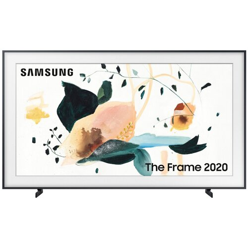 Фото - Телевизор QLED Samsung The Frame QE75LS03TAU 75 (2020), черный уголь телевизор qled samsung the frame qe55ls03tau 55 2020 черный уголь