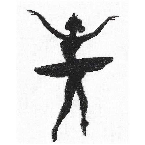 Купить Lanarte Набор для вышивания Ballet Silhouette 3 (Балетный силуэт 3) 11.5 х 14.5 см (PN-0008133), Наборы для вышивания