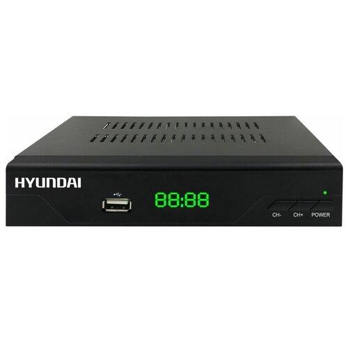 Фото - Кабельный ресивер Hyundai H-DVB840 антенна hyundai h tai260