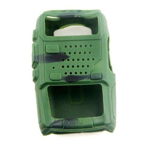 Чехол силиконовый для радиостанций Baofeng UV-5R камуфляж