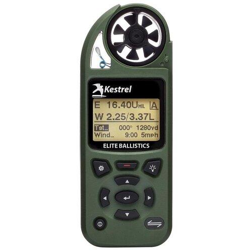 Карманная метеостанция KESTREL 5700 Elite c функцией Link и б.к. Applied Ballistics цвет зеленый