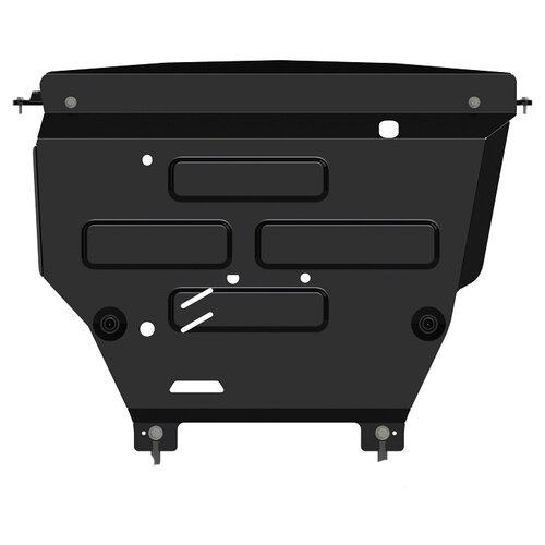 Защита картера Sheriff для Форд ЭкоСпорт 2018-2019, модель №1, сталь 2мм, арт:08.3898 V2