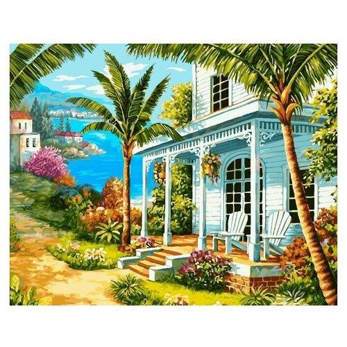 Купить ФРЕЯ Картина по номерам Райский уголок 50х40 см (PNB/R1 №121), Картины по номерам и контурам