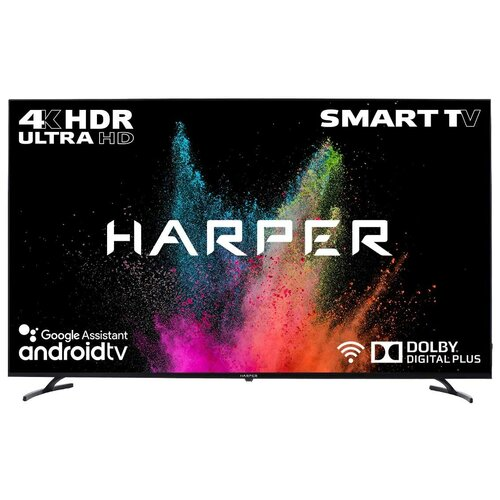 Фото - Телевизор HARPER 65U770TS 65 (2020), черный телевизор haier le24k6000s 23 6