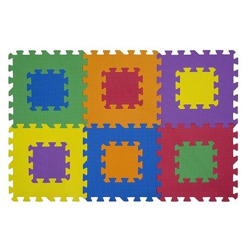 Купить Коврик-пазл Funkids Мозаика-12-10 (KB-049-6M-NT10), Игровые коврики