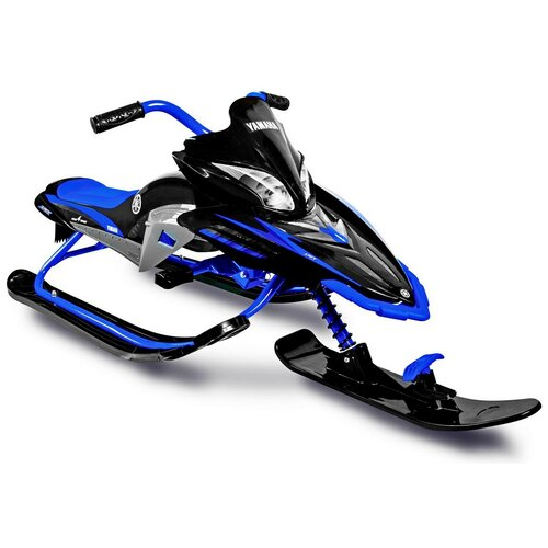 Снегокат Yamaha Apex Snow Bike Titanium синий
