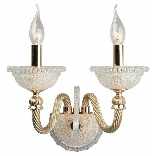 Настенный светильник Omnilux Agerola OML-88301-02, E14, 80 Вт