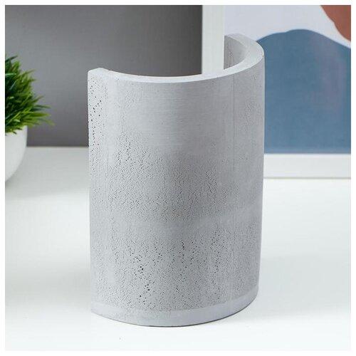 Лампа настольная Risalux Е27, 60 Вт, серый, 10*13,5*18 см