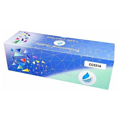 Фото - Картридж Aquamarine CC531A (совместимый с HP CC531A / HP 304A), цвет - голубой, на 4000 стр. печати картридж aquamarine cb541a совместимый с hp cb541a hp 125a цвет голубой на 1800 стр печати