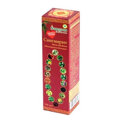 Купить Sangam Herbals Сангамрит Масло для волос обогащенное молоком, 100 мл