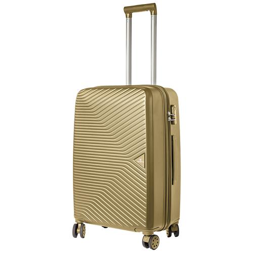 Турецкий чемодан Delvento модель Prism Bronze 69 см, 66л