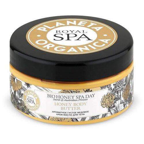 Ароматное густое медовое крем-масло для тела Royal Spa Planeta Organica 300 мл