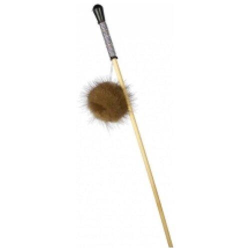 Gosi 07074 игрушка для кошек махалка пушистик на веревке 50см, 80263 (10 шт)