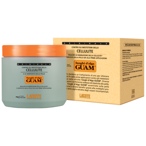 Guam маска Fanghi Dalga для тела антицеллюлитная с разогревающим эффектом 500 г