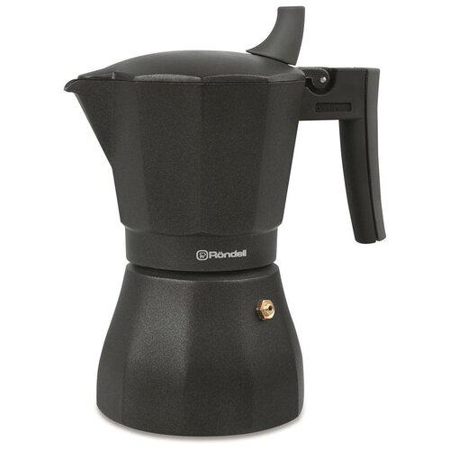 Гейзерная кофеварка Rondell Kafferro RDA-994 (450 мл), черный