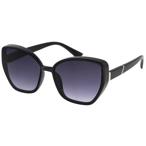 солнцезащитные очки Солнцезащитные очки женские/Очки солнцезащитные женские/Солнечные очки женские/Очки солнечные женские/21kdgaer1202111c1vr черный,синий/Vittorio Richi/Кошачий глаз/модные