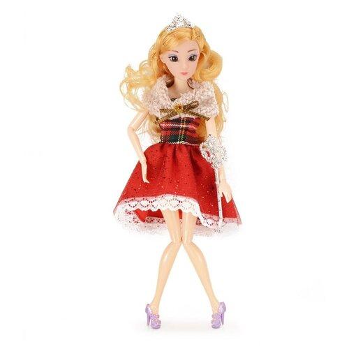 Кукла QIAN JIA TOYS Emily Зимняя принцесса, 28 см, HP1067142