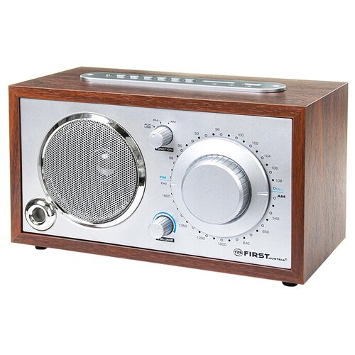 Радиоприемник FIRST AUSTRIA FA-1907-2 silver/wood недорого