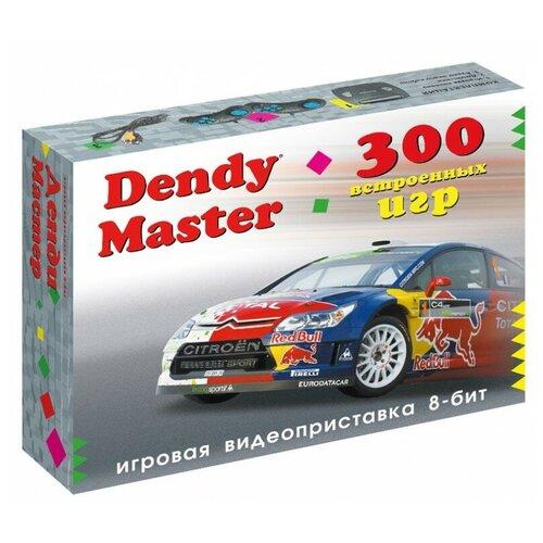 Фото - Игровая приставка Dendy Master 300 встроенных игр черный игровая приставка dendy dream 300 игр
