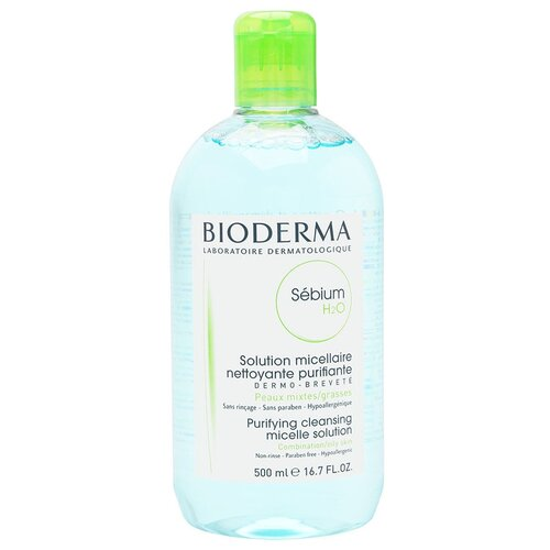 Bioderma мицеллярная вода Sebium H2O, 500 мл