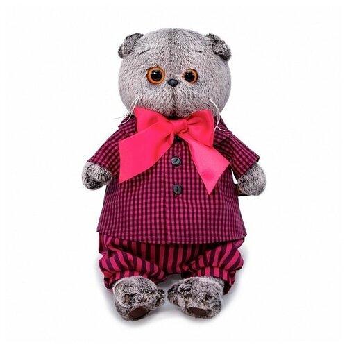 Мягкая игрушка Budi Basa Кот Басик в рубашке и штанах 30 см