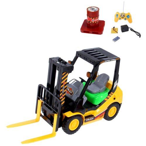 Купить Погрузчик Brothers Toy 9991 желто-зеленый, Радиоуправляемые игрушки