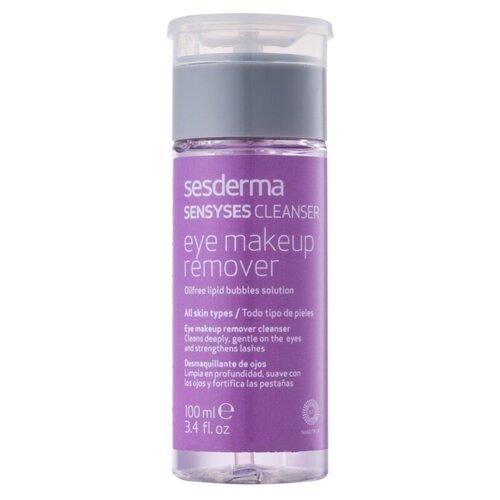 Фото - SesDerma липосомированный лосьон для снятия макияжа Sensyses Cleanser Eye Makeup Remover, 100 мл очищающий гель для умывания и снятия макияжа для всех типов кожи perricone md no makeup easy rinse makeup removing cleanser 177 мл