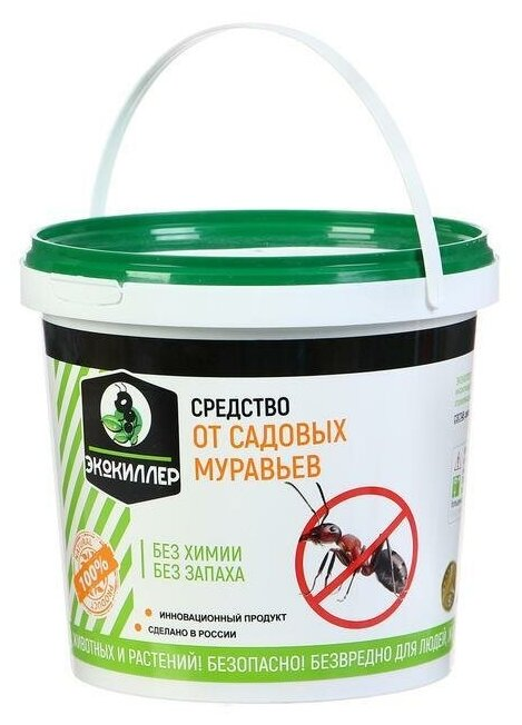 Экокиллер Средство ЭкоКиллер от муравьев — цены на Яндекс.Маркете